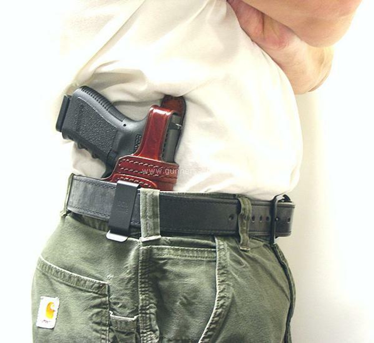 Right Hand - Shown on the Belt with a Glock 19 for Demonstration Purposes