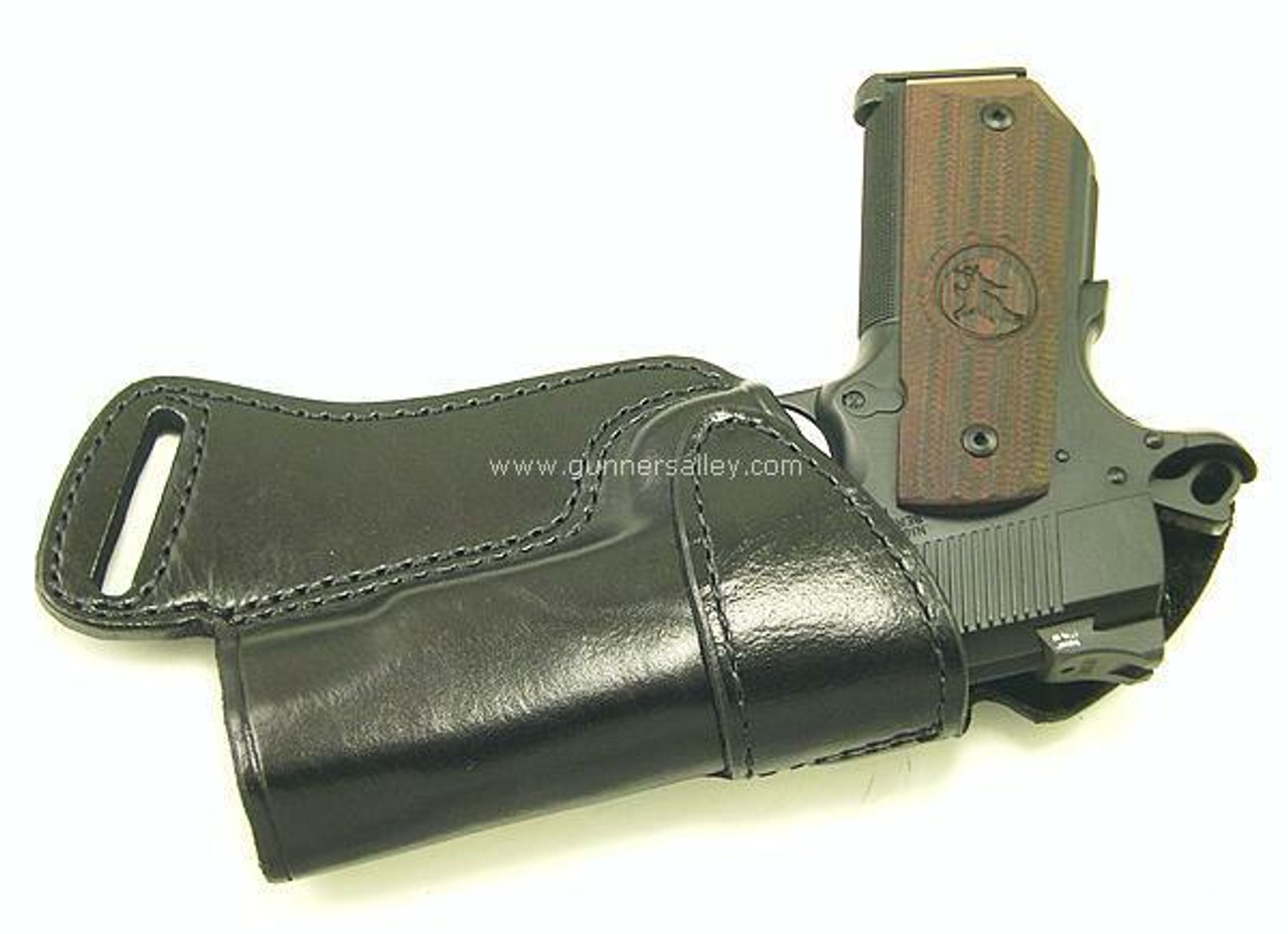 Front View - RH Black - Shown with a Colt Commander for Demonstration Purposes