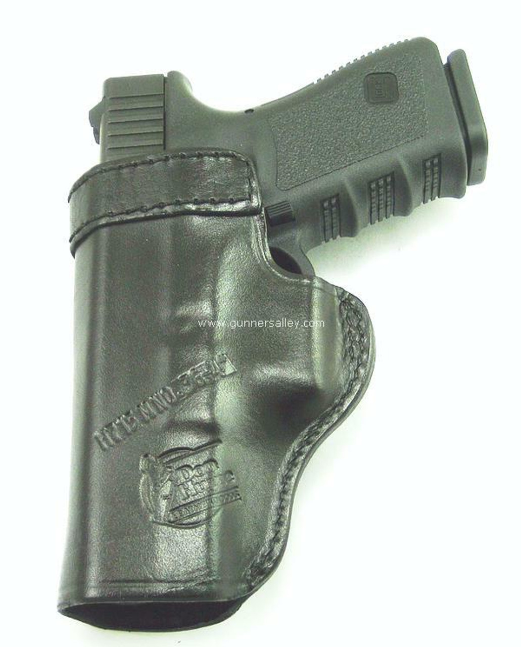 Black - Rear View - Shown with a Glock 19 for Demonstration Purposes