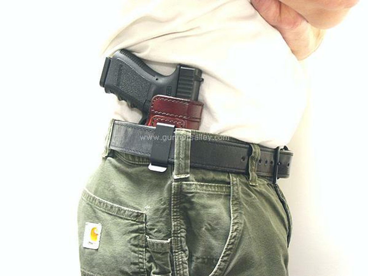 RH Model - Shown on the Belt with a Glock 19 for Demonstration Purposes