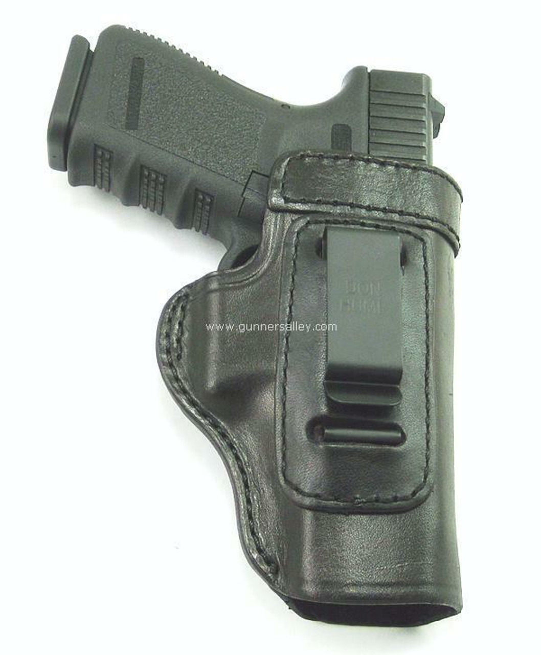 Black - Front View - Shown with a Glock 19 for Demonstration Purposes