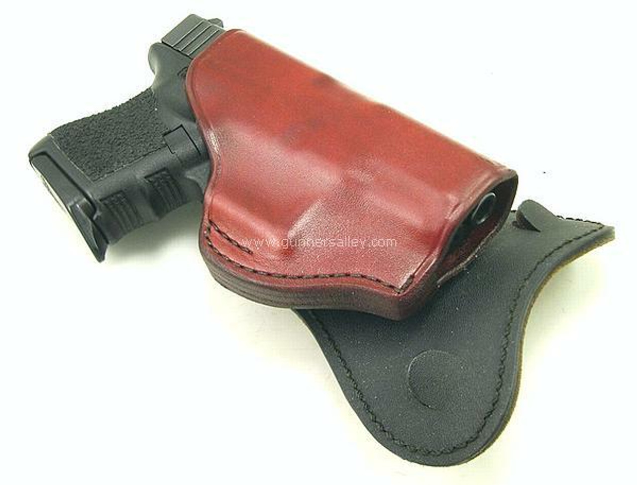 Saddle Brown - Profile View - Shown with a Glock 19 for Demonstration Purposes