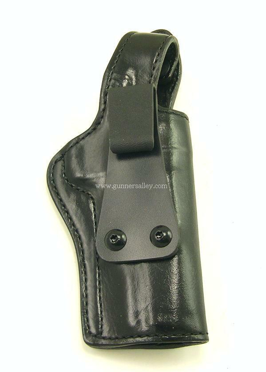 Right Hand-Black - for a 1911 Government Model (5 inch barrel) - Front View
