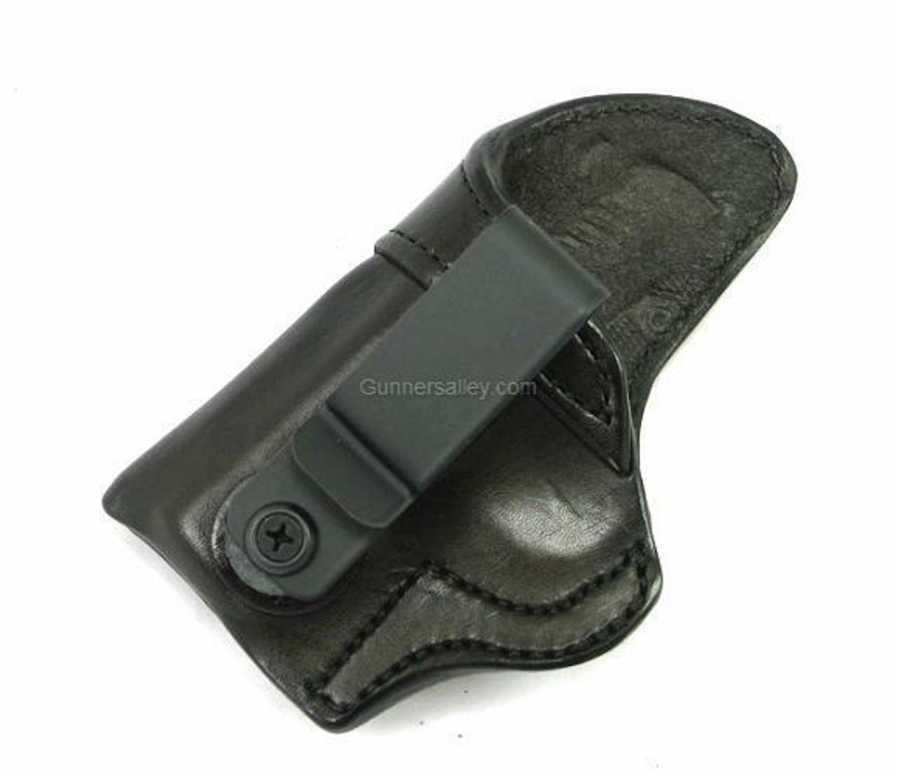 LH Dark Brown MTR Custom Tuckable Adversary Clip-On IWB Holster for a Kimber Micro 380
