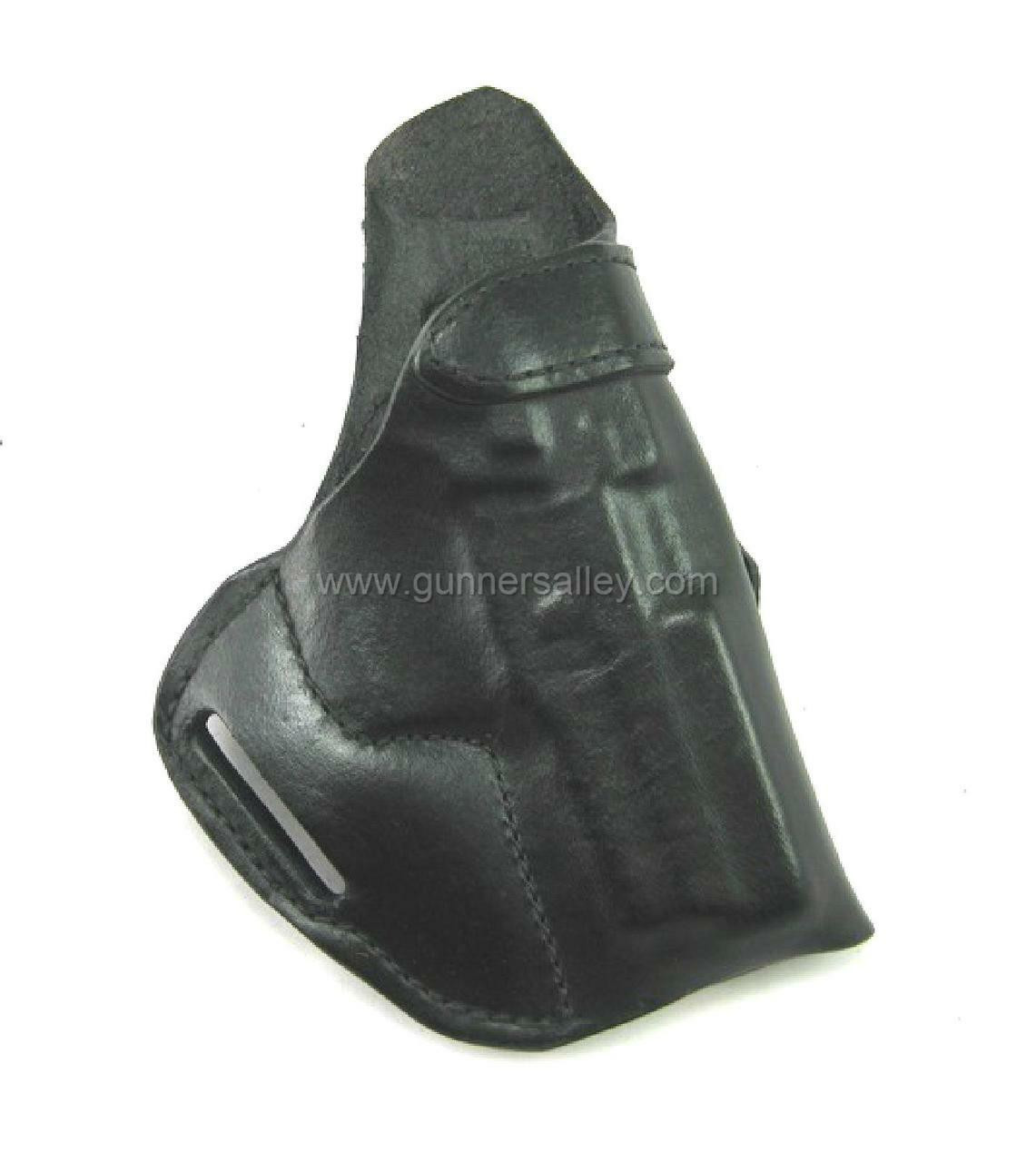 RH Black MTR Custom Crossdraw Holster for a Sig P227 .45 - Front View