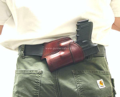 Shown on the belt with a Glock 19 for Demonstration Purposes