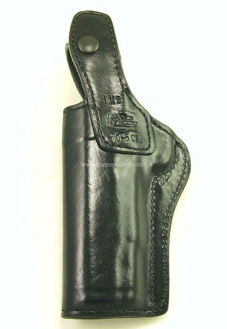 Right Hand-Black - for a 1911 Government Model (5 inch barrel) - Rear View