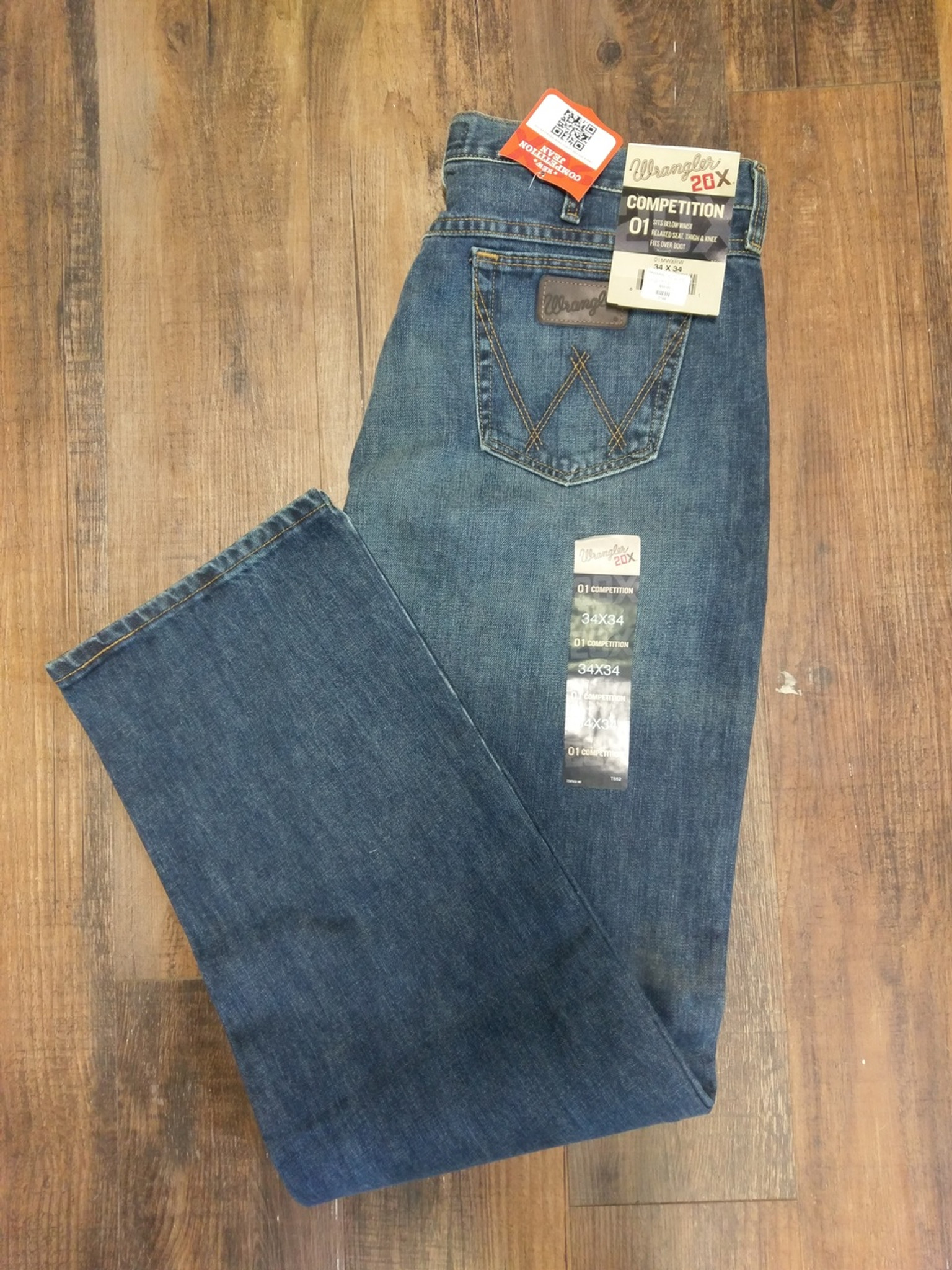 52ea0cd1 Wrangler Jeans 20x Competition Mens NEW, 30% off original retail, 01MWXRW,  various sizes - Hitchin' Post Trailers, LLC