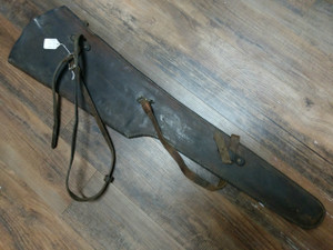 Leather Rifle Scabbard, George Laurence
