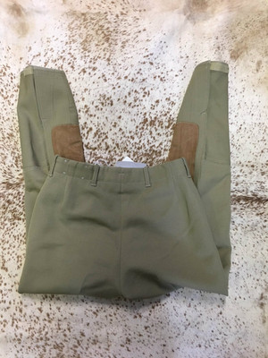 26 OLIVE BREECHES
