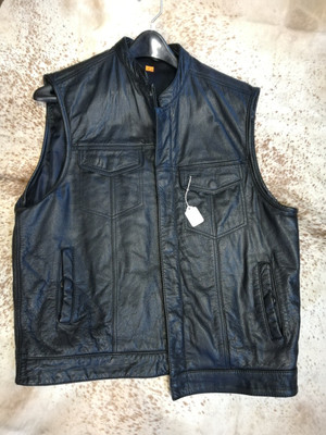 XL Large, Men's, Leather Vest