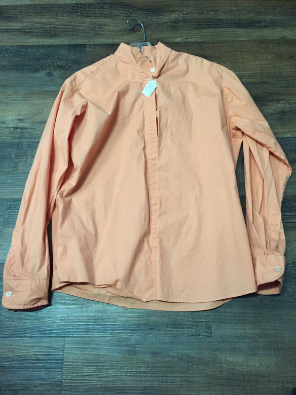 36R Devonaire English Shirt, Peach