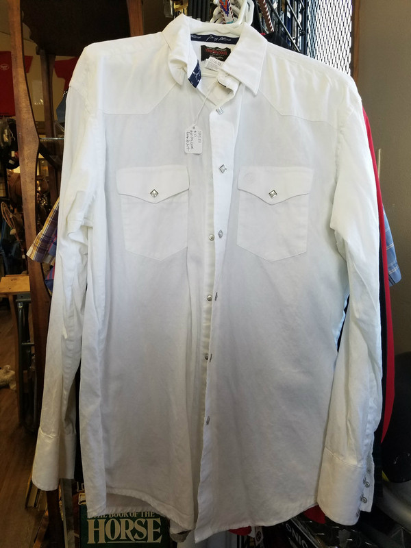 Wrangler Large Men's Long Sleeve Button Up