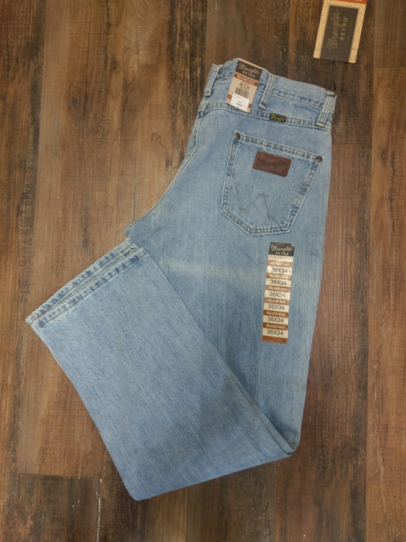 Wrangler Retro Jeans NEW, Mens, 30% off original retail, model WRT20CR