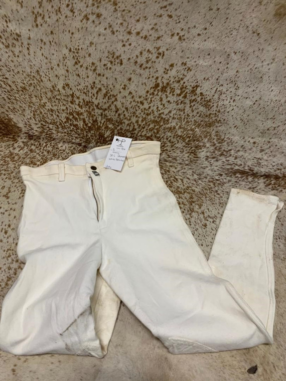 30L White Devonaire Breeches
