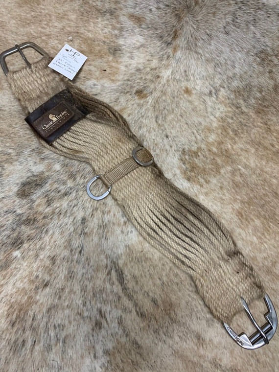 "28"" Classic Equine Mohair Straight Cinch"