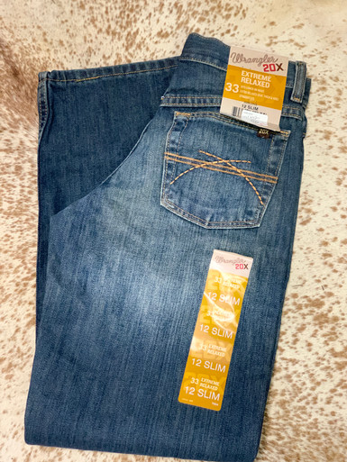 Wrangler Boys 20x Extreme Relaxed Fit Jean