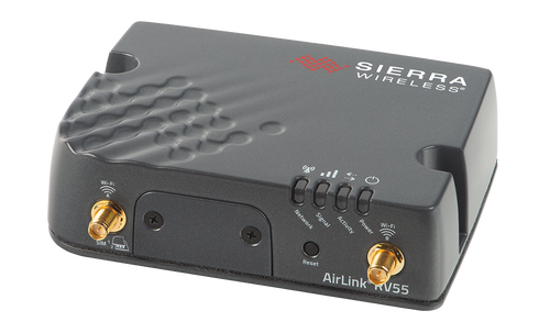 AirLink® RV55: Industrial LTE-A Pro Router  Compact, Rugged, Low power, LTE-A Pro or LTE-M/NB-IoT Routers for Industrial IoT, SCADA and Field Service Fleets