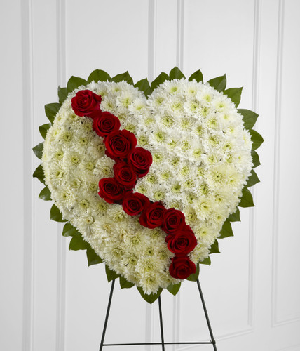 The Broken Heart Inglewood California Flower Delivery