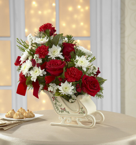 Holiday Traditions Bouquet Inglewood California Florist