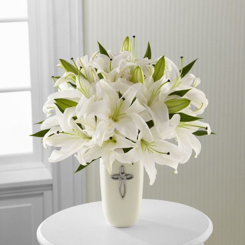 Faithful Blessings Bouquet Inglewood California Flower Delivery