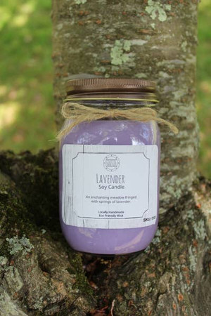 16 oz Lavender Soy Candle
