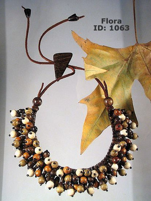 Flora Wooden Necklace