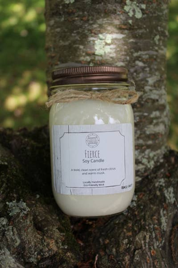 16 oz Fireside Soy Candle