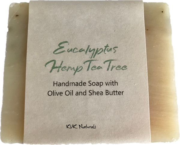 Eucalyptus Hemp and Tea Tree Soap Bar