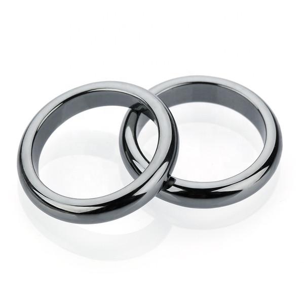 4mm Dome Hematite Dome Ring