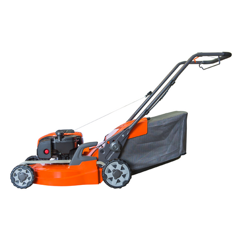 39cm 100cc Hand-Propelled Rotary Petrol Lawn Mower