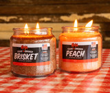 Limited Edition Rudy's Brisket  Candle Combo