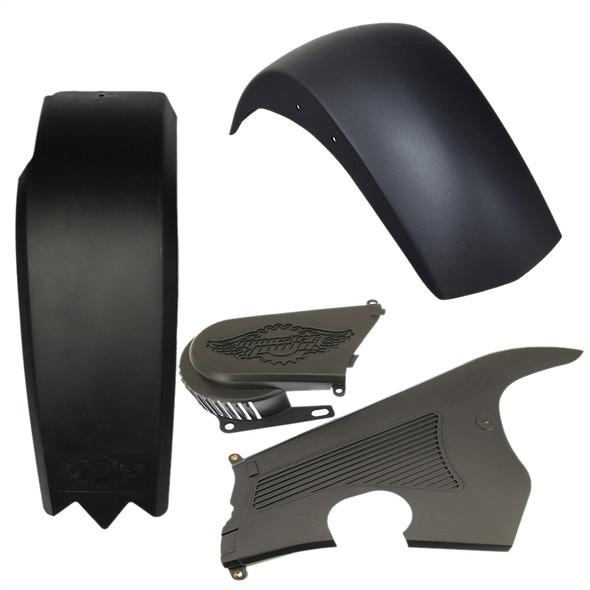 Mega Moto Black Fender Kit