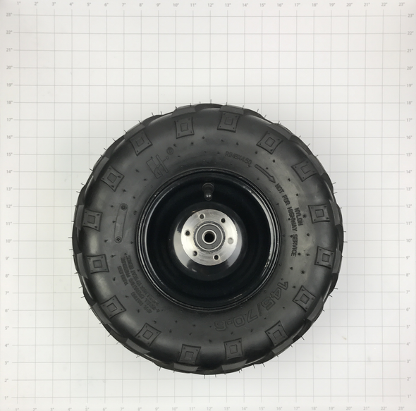 Rear Tire and Wheel Assembly (80/105/e1000)