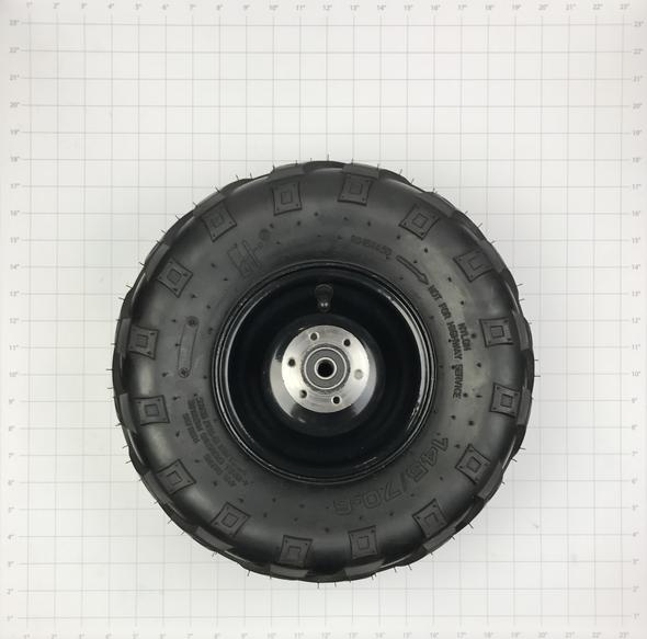 Rear Tire and Wheel Assembly (80/105/e1000) (v-tread 145/70-6)