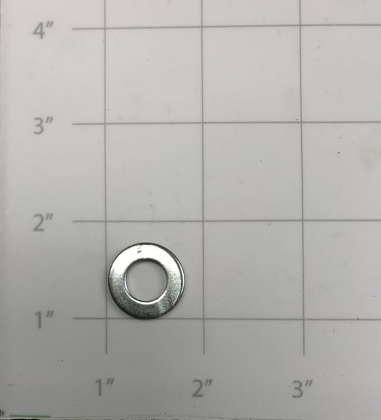 90-10108-00  -  WASHER, FLAT ZINC M10 (COMPATIBLE WITH E250)