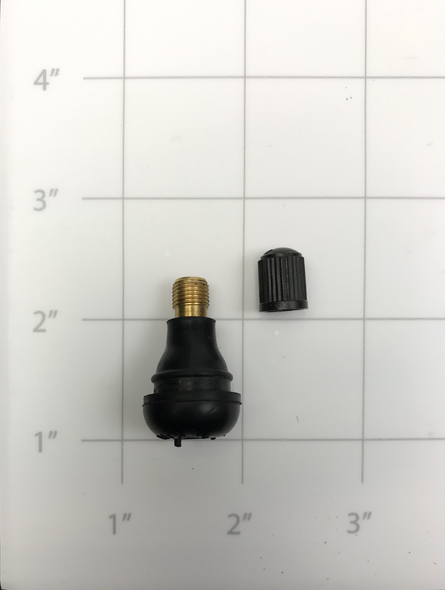 30-10000-00  -  VALVE, TIRE W/CAP (COMPATIBLE WITH B80/B105/E1000)