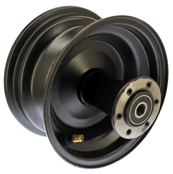 30-10003-00  -  WHEEL, REAR 6 INCH BLACK
