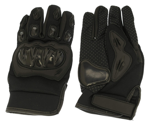 82-10003-00 Youth Racing Gloves (Medium) Black
