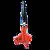 Der Red Max model rocket, assembled
