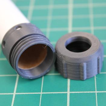 18mm motor retainer on tube--cap off
