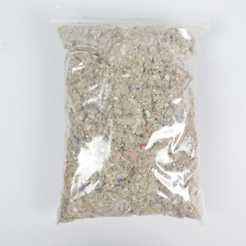 """Dog Barf""  fire proof recovery wadding in a 1 gallon bag, suitable for approximately 25 flights of 24mm airframe models."