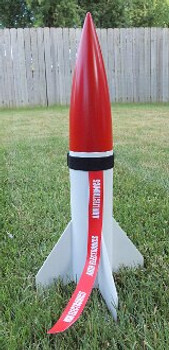 Arm Electronics Warning in use on a model rocket