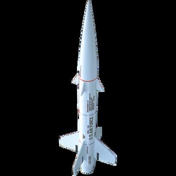 Estes Rockets' Bull Pup assembled