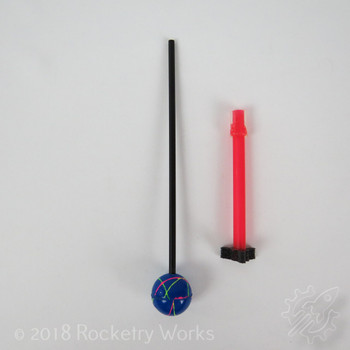 What's in the box for CSC Toys' Reaction Rocket