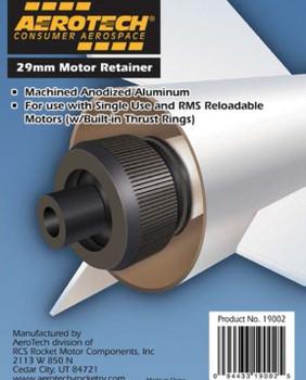 29mm Threaded Aluminum Motor Retainer