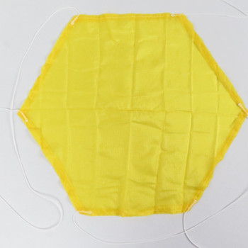 Yellow Ripstop Nylon Parachute