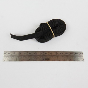 3/8 inch elastic shock cord with 6 inch scale