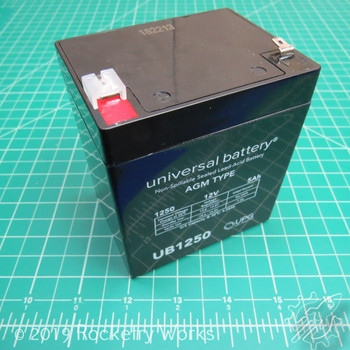 12 v 5 Ah sealed lead acid battery