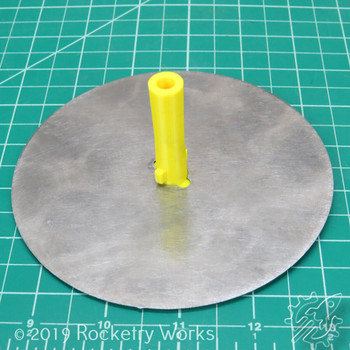 1/4 Inch Blast Deflector Stand Off in a Rocketry Works Blast Deflector (sold separately)